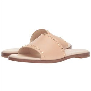 Cole Haan Anica Leather Slide Sandal
